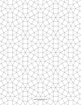 3.3.3.3.3.3,3.3.4.3.4 Tessellation Small Paper