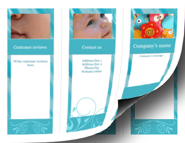Baby Brochure-Trifold Paper