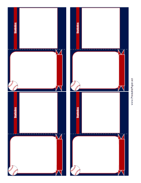 printable baseball card template. Black Bedroom Furniture Sets. Home Design Ideas