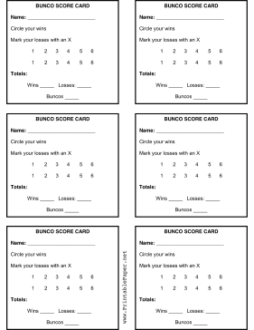 photograph relating to Bunco Tally Sheets Printable identify Printable Bunco Rating Sheet