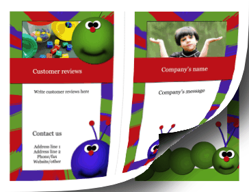 Child Care Brochure-Bifold Paper