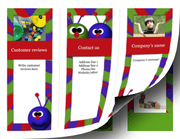 Child care Brochure-Trifold Paper