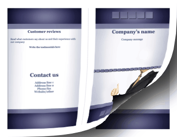 Corporate Brochure-Bifold Paper