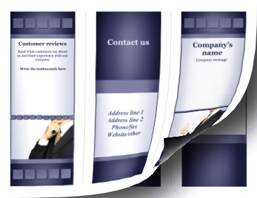 Corporate Brochure-Trifold Paper