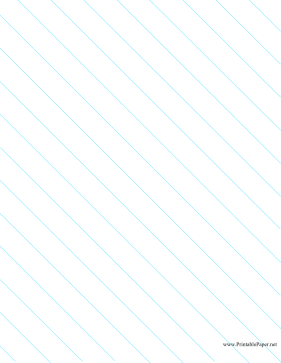 Diagonal Left Right 1 Inch Paper