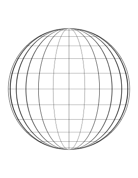 Globe-Moon Phase Paper