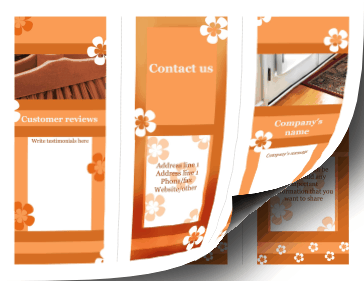 Housecleaning Brochure-Trifold Paper