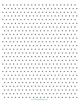 image regarding Isometric Dot Paper Printable named Printable Isometric Dots 1 cm Letter