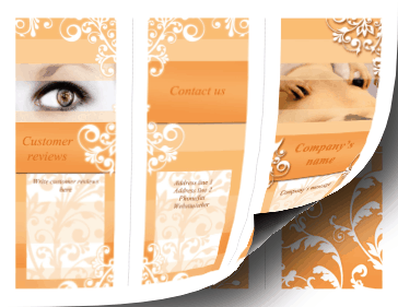 Massage Brochure-Trifold Paper