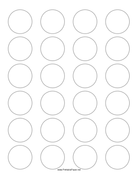 Free worksheets printable circle template free math for 1 inch diameter circle template