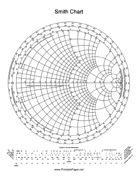 Printable smith chart ccuart Image collections