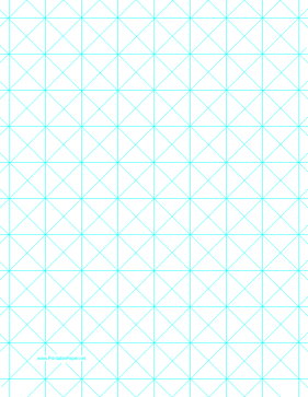 Triangles With 1-Inch Grid Paper