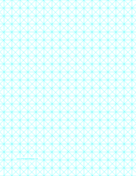 Triangles With Half-Inch Grid Paper