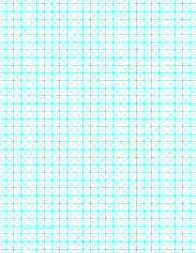 Triangles With Third-Inch Grid Paper