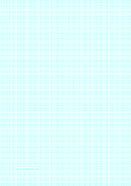 Dot Paper with 2mm spacing on A4-sized paper Paper