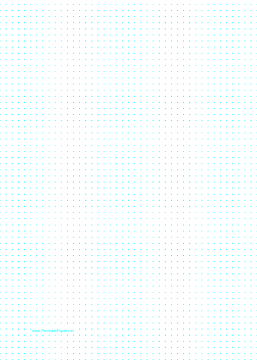 Dot Paper with 5mm spacing on A4-sized paper Paper