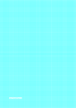 Graph Paper with lines every 1.25mm (8 lines/cm) on A4-sized paper Paper