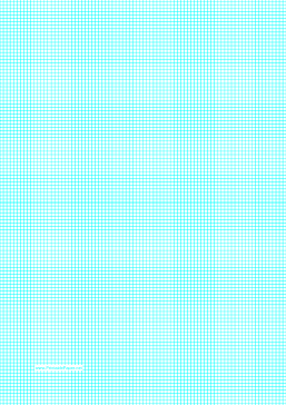 Graph Paper with lines every 2.5mm (4 lines/cm) on A4-sized paper Paper