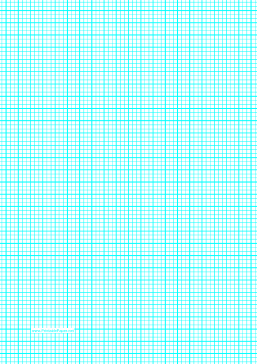 Graph Paper with lines every 3.33mm (3 lines/cm) and heavy index lines on A4-sized paper Paper