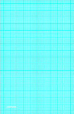 Graph Paper with twenty two lines per inch and heavy index lines on ledger-sized paper Paper