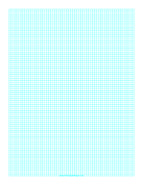 Graph Paper with one line every 3 mm on A4 paper Paper
