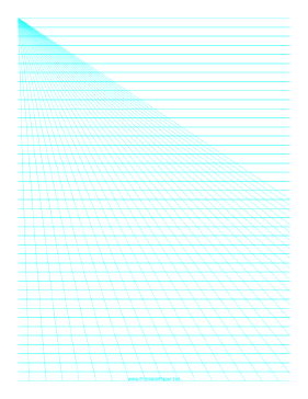 Perspective Paper - Left with Horizontal Lines Paper