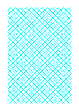 Graph Paper for Quilting with 2 Lines per cm and heavy index lines every cm Paper