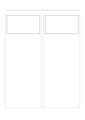 Storyboard with 2x1 grid of 16:9 (widescreen) screens on A4 paper Paper