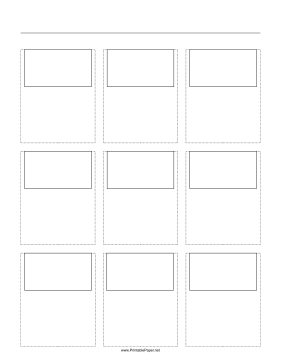 photograph about Storyboard Template Printable named Storyboard Template
