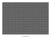 Calendar - 1 Year by Days - 250 Divisions with Index Lines - Landscape paper