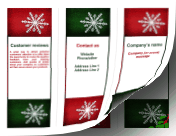 Christmas Brochure-Trifold paper