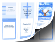Church Brochure-Trifold paper