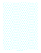 Diamond Graph Paper 2cm paper