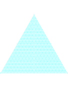Triangular Coordinate Paper paper