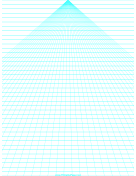 Perspective Paper - Center with Horizontal Lines paper