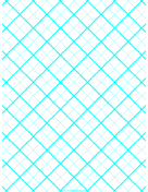 Graph Paper for Quilting with 2 Lines per inch and heavy index lines paper
