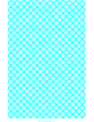 Graph Paper for Quilting with 5 Lines per cm and heavy index lines every cm paper