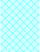 Graph Paper for Quilting with 9 Lines per inch and heavy index lines paper